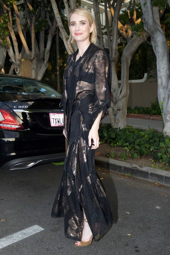 Emma Roberts Leaves the Violet Grey Event in Los Angeles-2