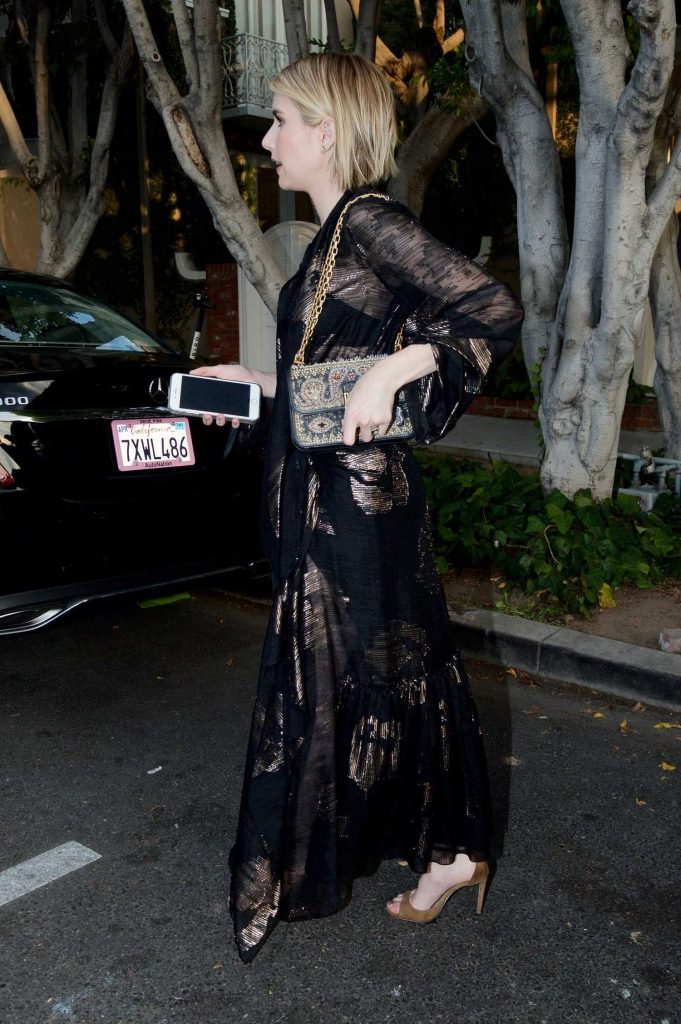 Emma Roberts Leaves the Violet Grey Event in Los Angeles-3