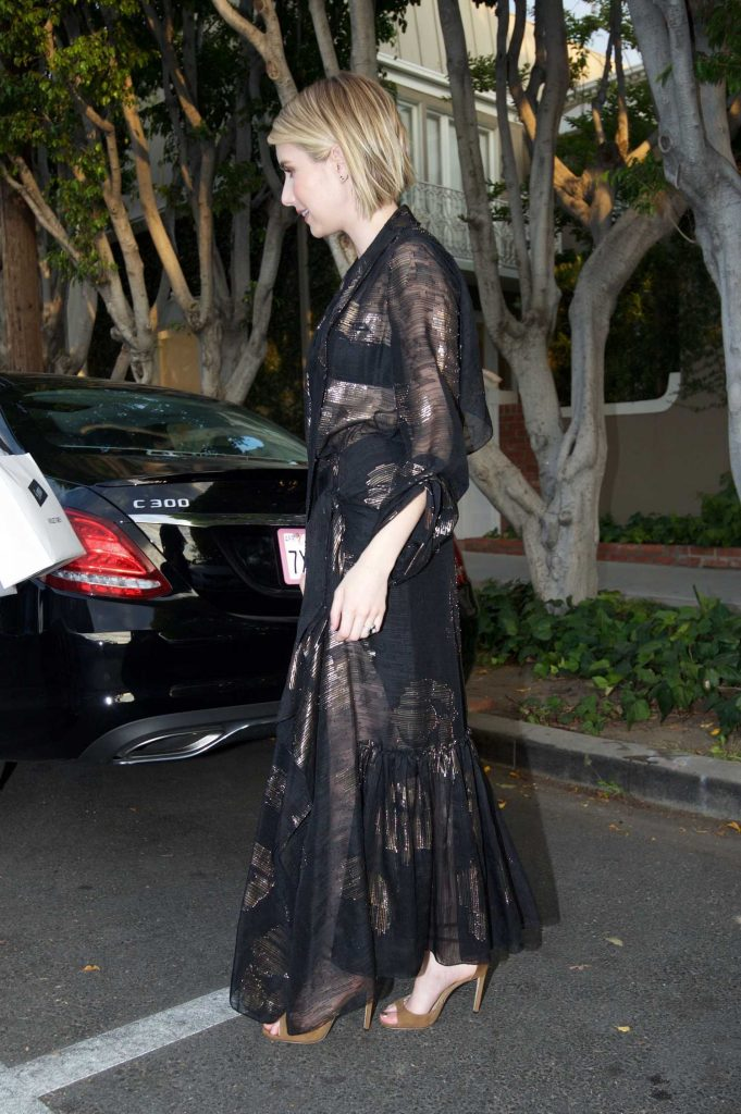 Emma Roberts Leaves the Violet Grey Event in Los Angeles-4