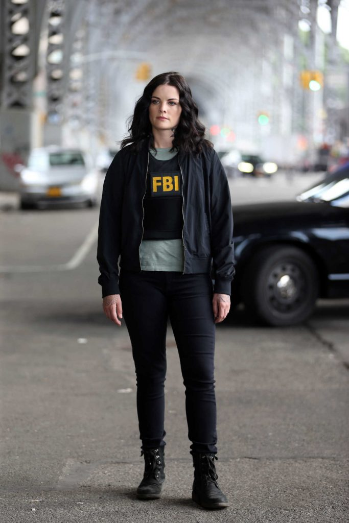 Jaimie Alexander on the Set of Blindspot in NYC-1