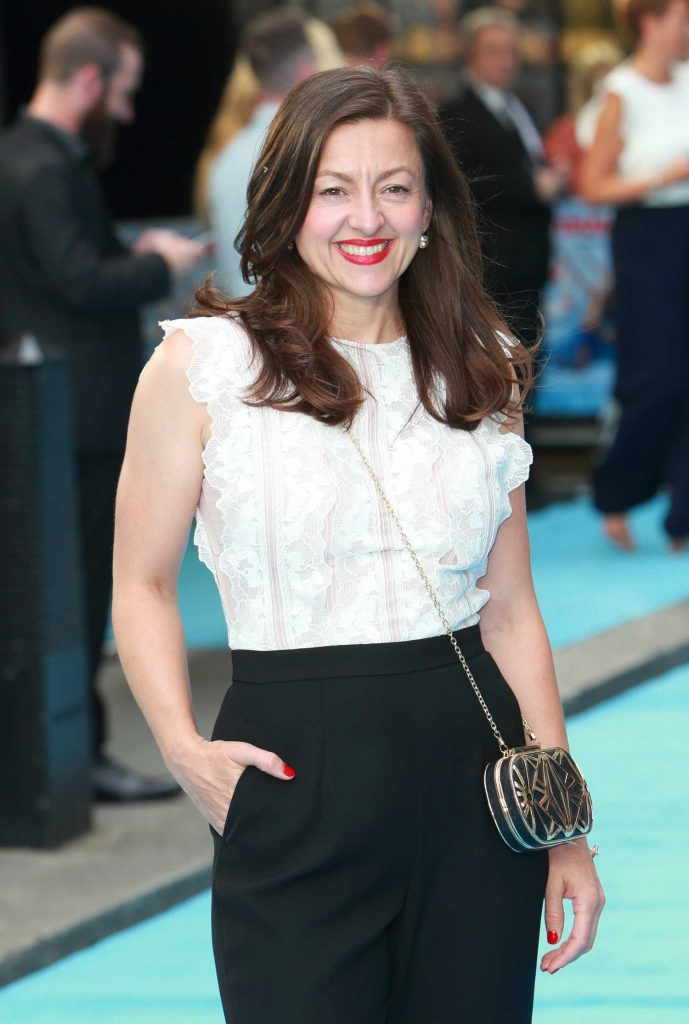 Jo Hartley Arrives at the Swimming with Men Premiere in London-3