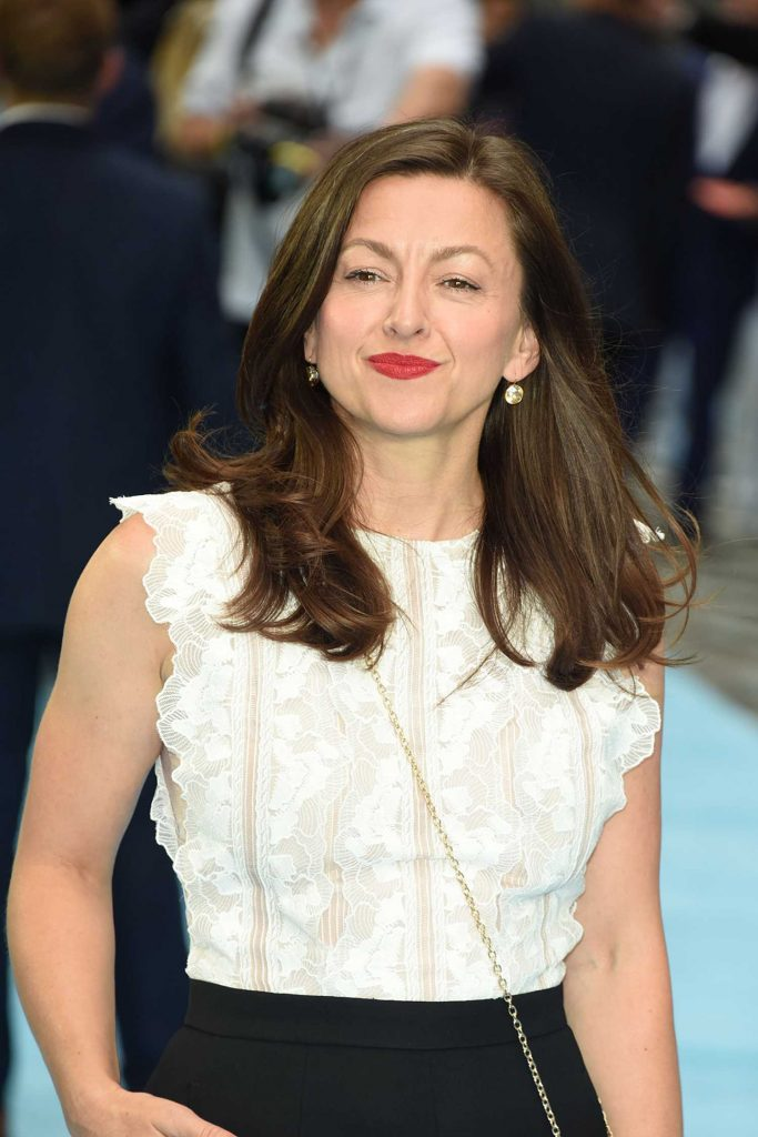 Jo Hartley Arrives at the Swimming with Men Premiere in