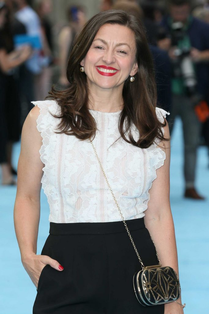 Jo Hartley Arrives at the Swimming with Men Premiere in London-5