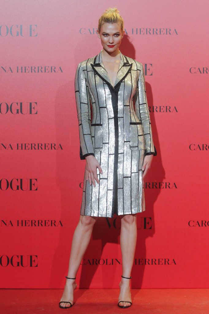 Karlie Kloss at Vogue Spain 30th Anniversary Party in Madrid-1