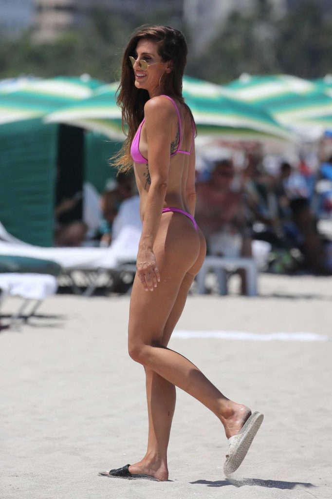 Kaylee Ricciardi in Bikini on the Beach in Miami-5