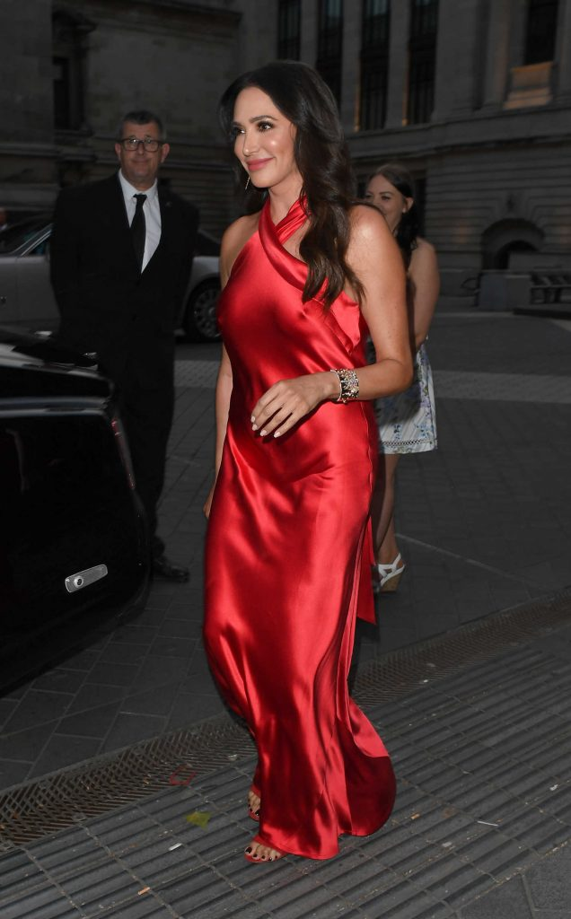 Lauren Silverman Arrives at Syco Summer Party at the Victoria and Albert Museum in London-3