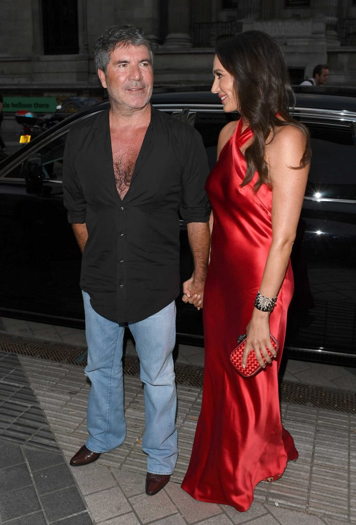 Lauren Silverman Arrives at Syco Summer Party at the Victoria and Albert Museum in London-5