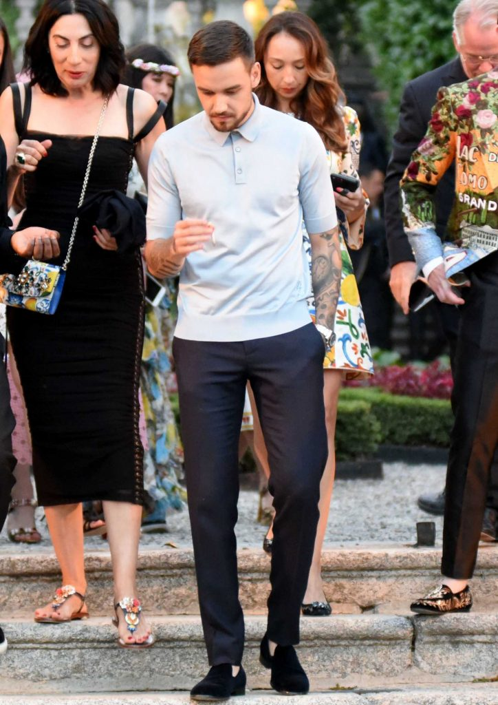 Liam Payne Was Spotted in Lake Como at Dolce and Gabbana Fashion Event in Villa Olmo-1