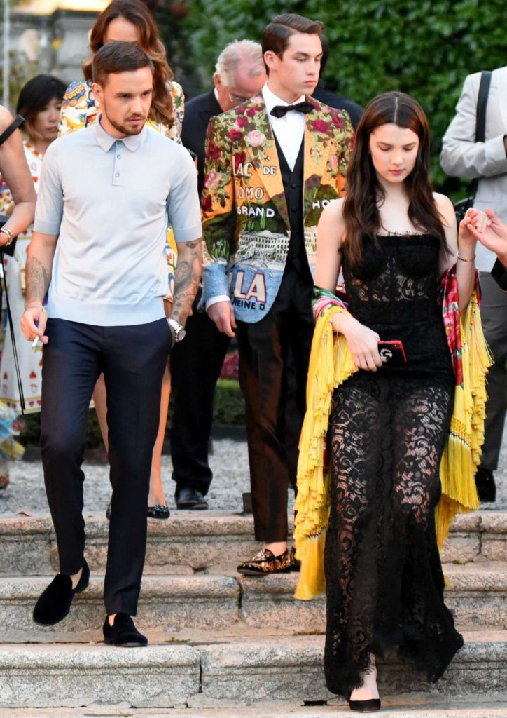 Liam Payne Was Spotted in Lake Como at Dolce and Gabbana Fashion Event in Villa Olmo-2