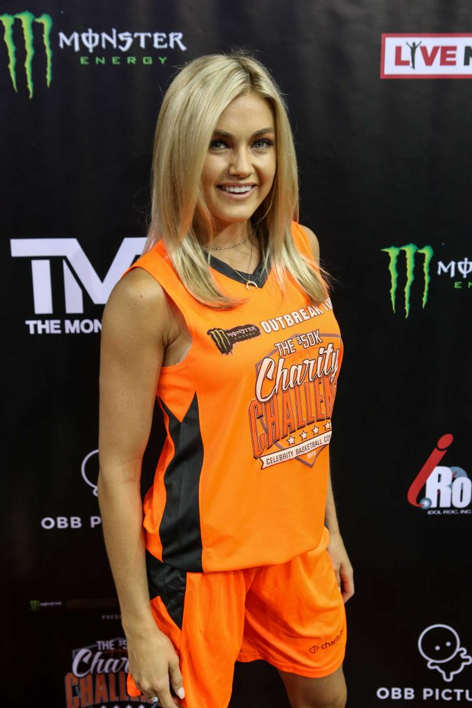 Lindsay Arnold Attends 50K Charity Challenge Celebrity Basketball Game at UCLA's Pauley Pavilion in Westwood-2