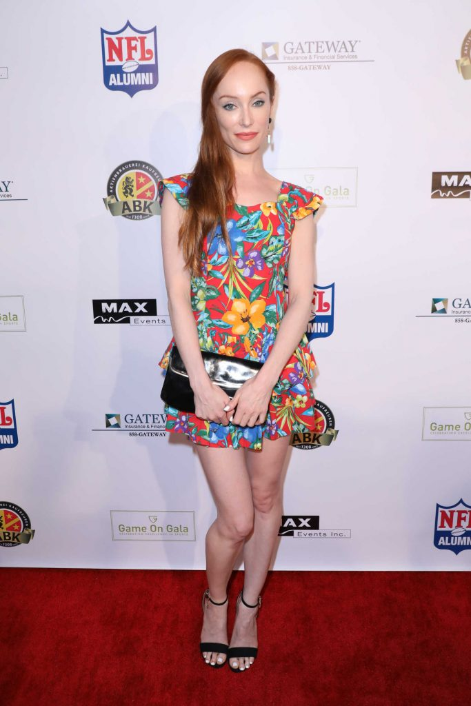 Lotte Verbeek at the Game on Gala Celebrating Excellence in Sports at Boulevard 3 Nightclub in Los Angeles-1