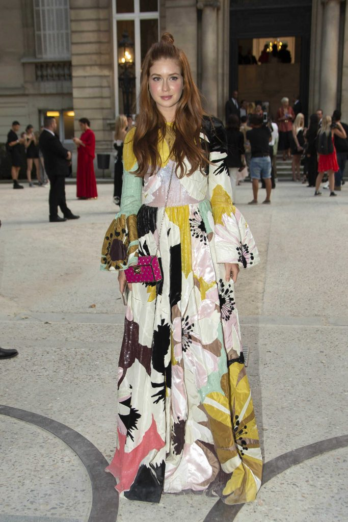 Marina Ruy Barbosa Attends 2018 Valentino Show in Paris-1
