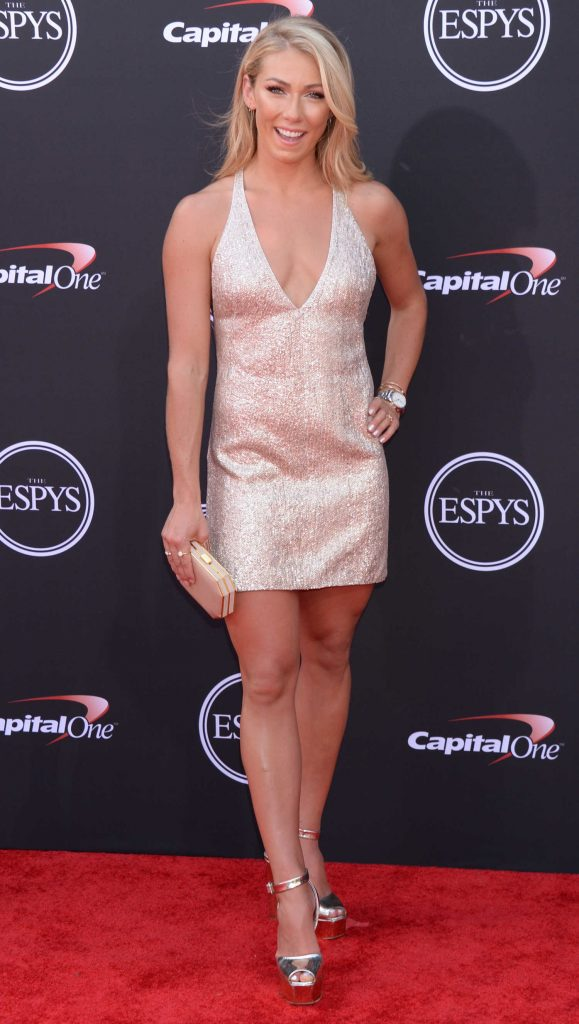 Mikaela Shiffrin at 2018 ESPY Awards in Los Angeles-1