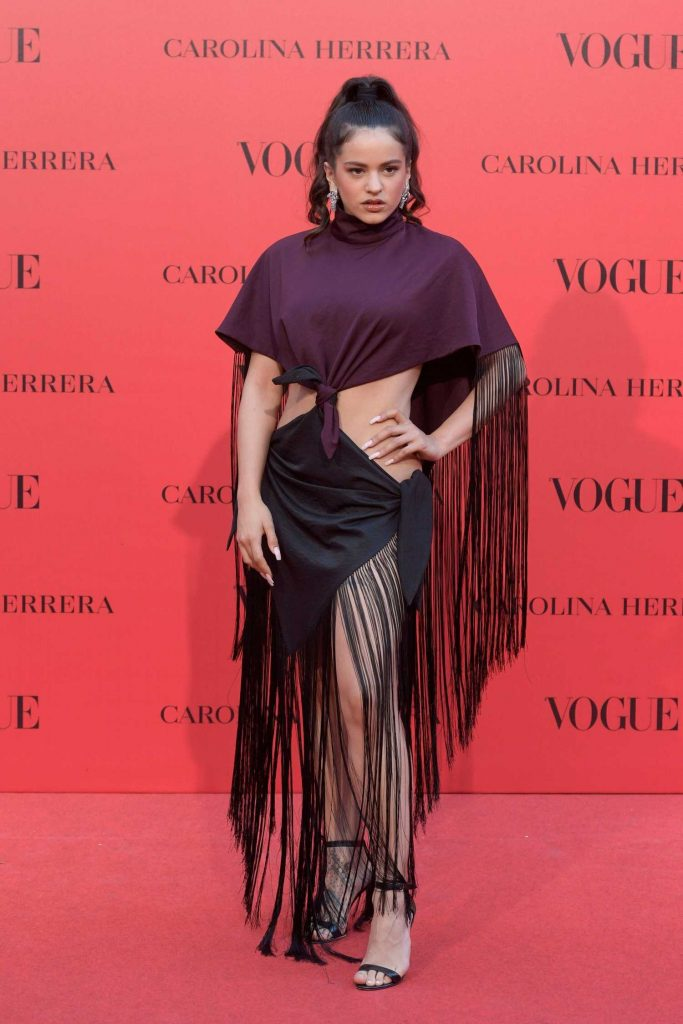 Rosalia Vila at Vogue Spain 30th Anniversary Party in Madrid-1