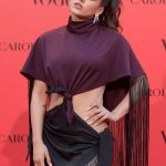 Rosalia Vila at Vogue Spain 30th Anniversary Party in Madrid