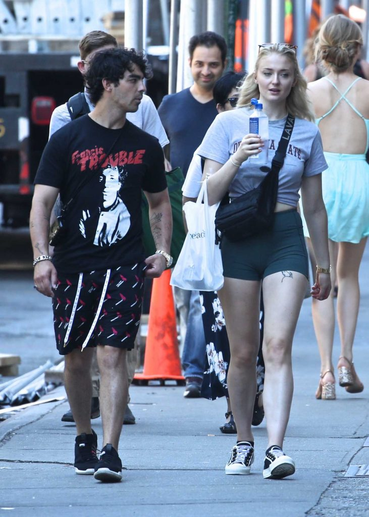 Sophie Turner Was Spotted Out with Joe Jonas in New York City-2
