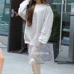 Ariana Grande in all White Was Seen Out in NYC