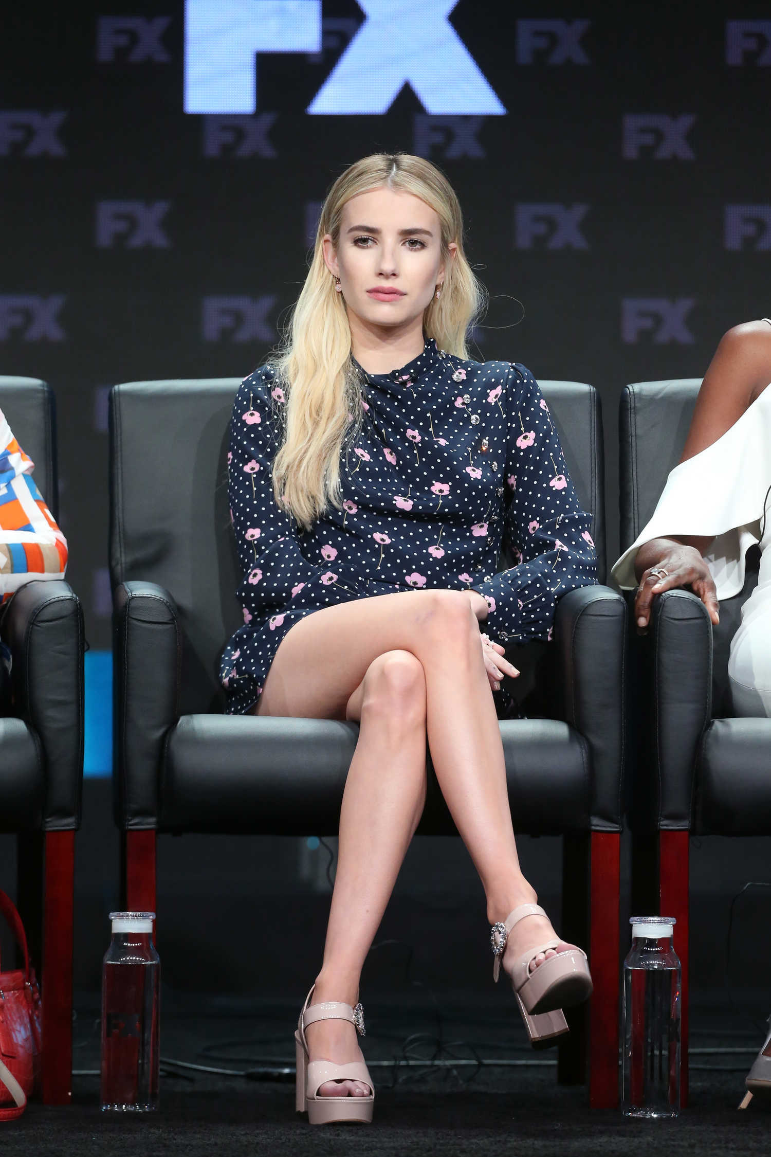 emma roberts arrives at american horror story apocalypse