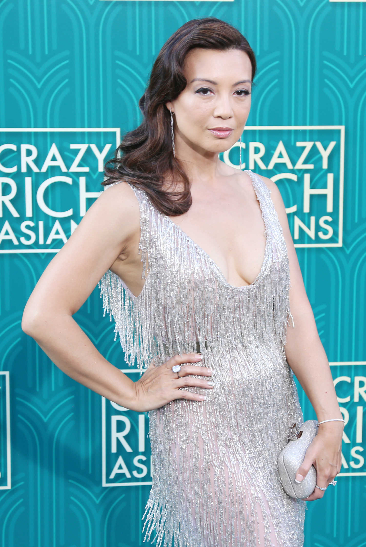 Ming-Na Wen at the Crazy Rich Asians Premiere in Los Angeles - Celeb Donut