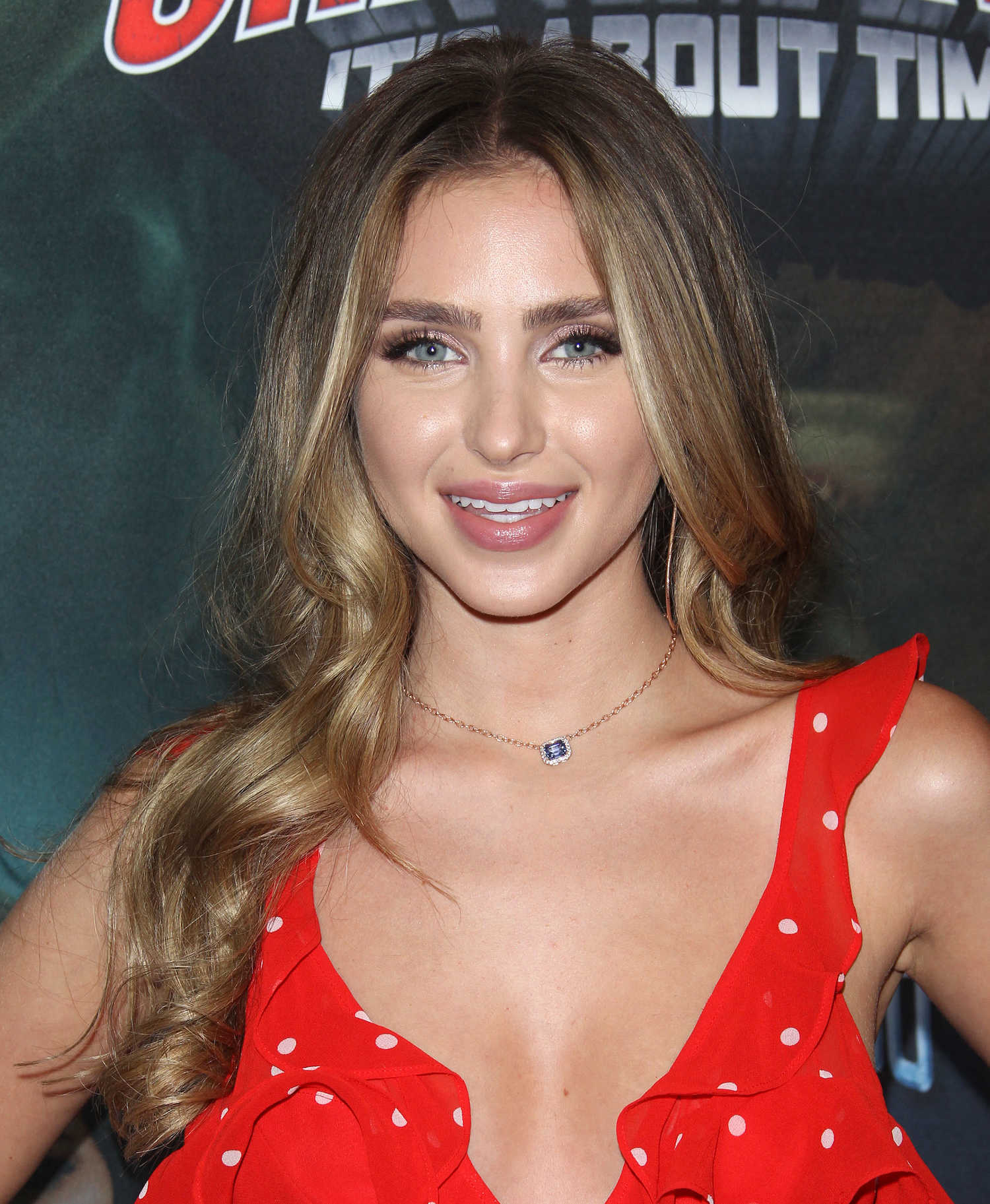 Ryan Newman at The Last Sharknado: Its About Time