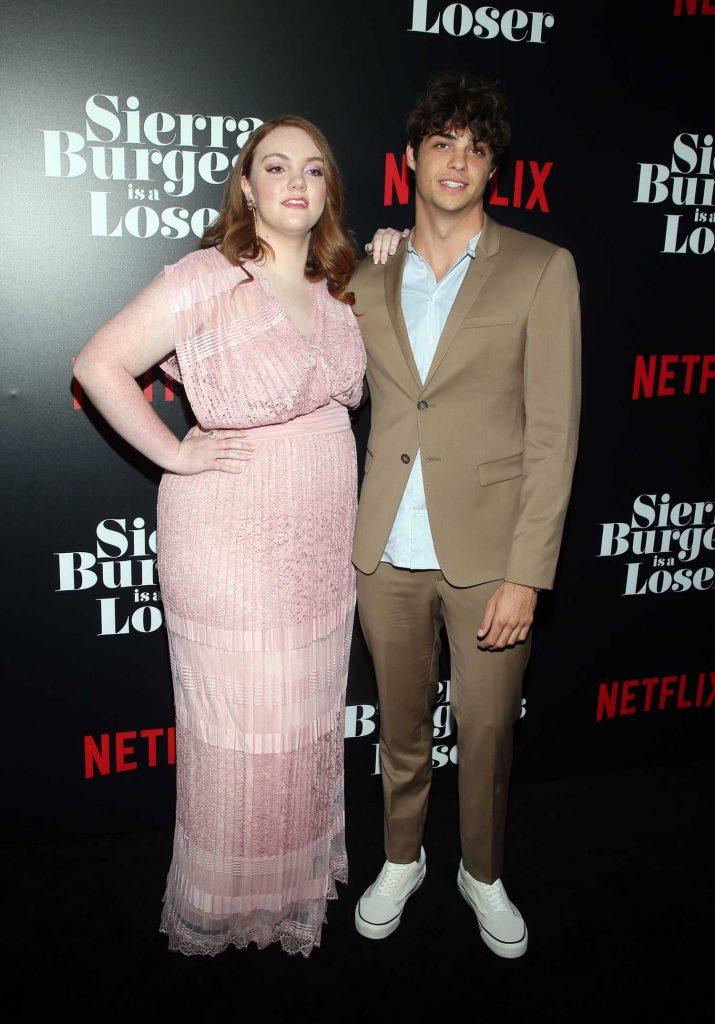 shannon purser at sierra burgess is a loser premiere in hollywood  u2013 celeb donut
