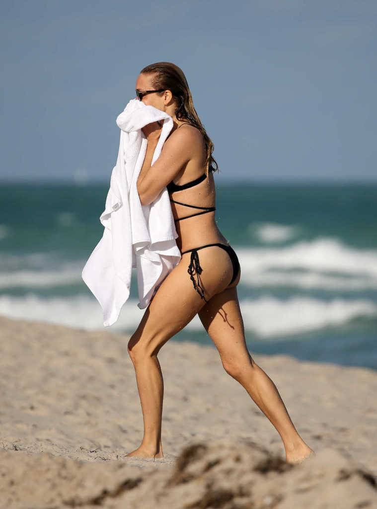 Chloe Sevigny in a Black Bikini