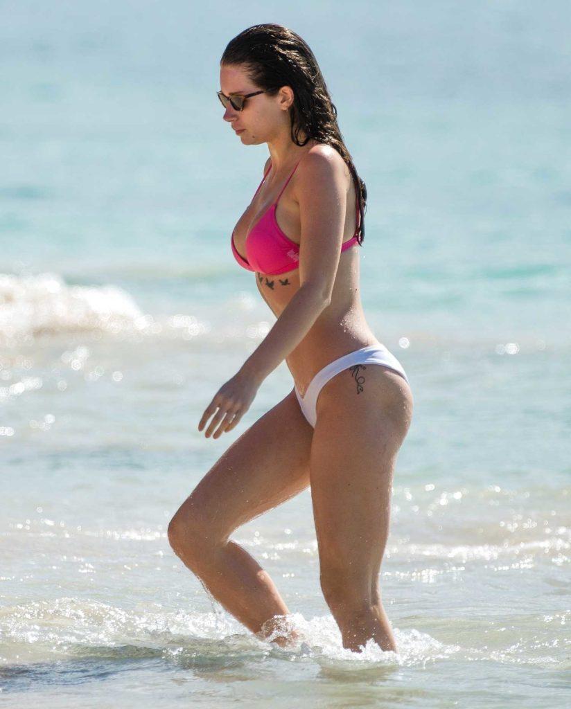 Lottie Moss in Bikini