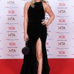 Emily Atack Attends 2019 National Television Awards in London