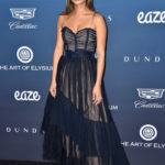 Jamie Chung Attends The Art of Elysium's 12th Annual Black Tie Event Heaven in LA
