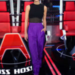 Lena Meyer-Landrut Attends The Voice Kids 2019 in Berlin