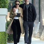 Rooney Mara in a Beige Trench Coat Was See Out with Joaquin Phoenix in Los Angeles
