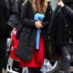Sarah Jessica Parker on the Set of Divorce in New York