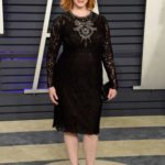 Christina Hendricks Attends 2019 Vanity Fair Oscar Party in Beverly Hills