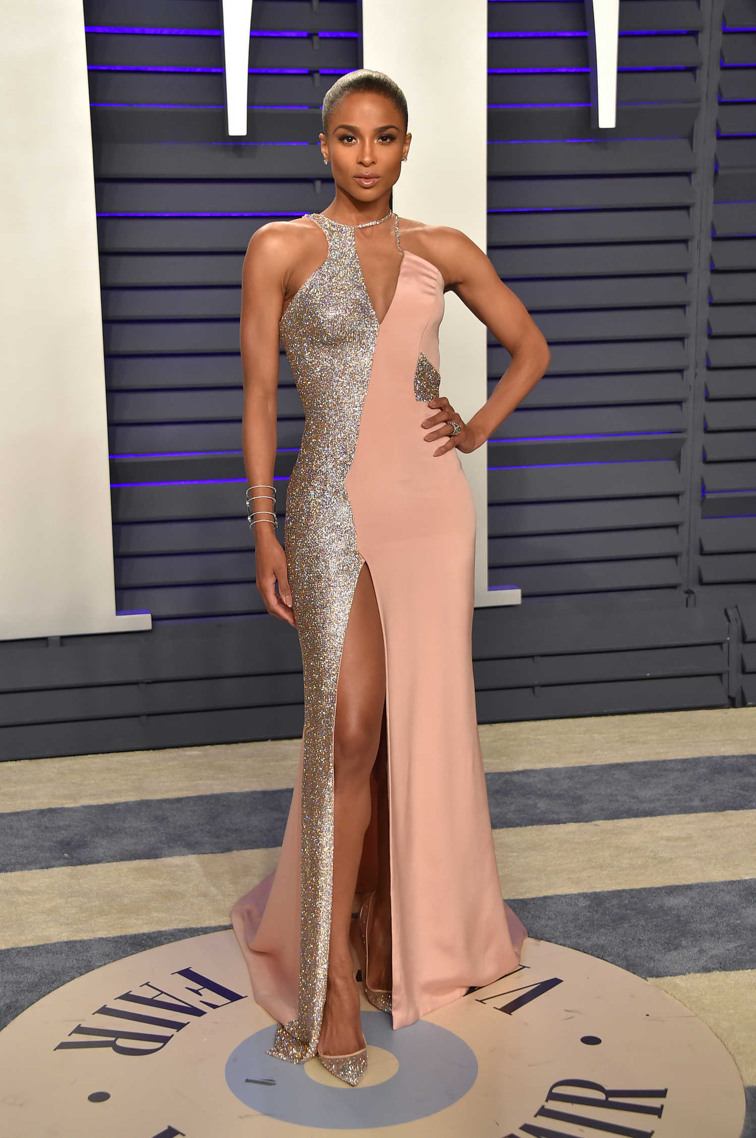 Ciara In Instyle Magazine April 2019 Issue: Ciara Attends 2019 Vanity Fair Oscar Party In Beverly