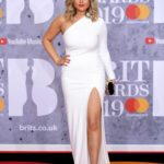 Emily Atack Attends the 39th Brit Awards at the O2 Arena in London