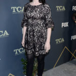 Emma Dumont Attends the Fox Winter TCA at The Fig House in Los Angeles