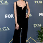 Emmanuelle Chriqui Attends the Fox Winter TCA at The Fig House in Los Angeles