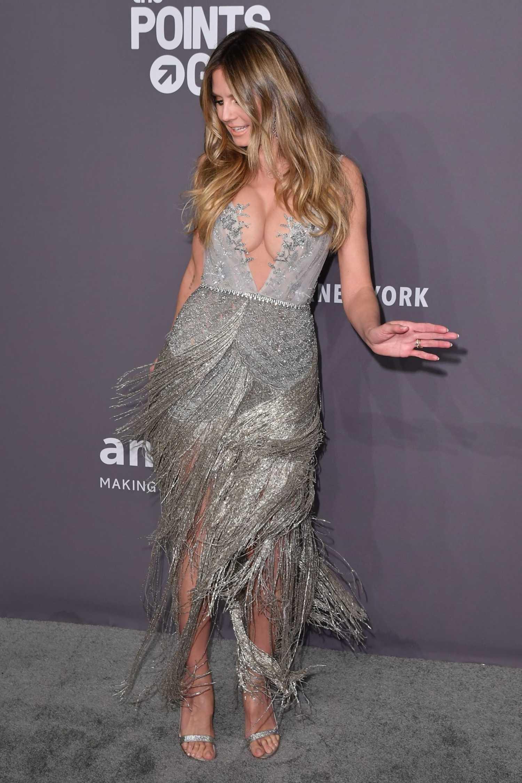 Heidi Klum Attends 2019 Amfar New York Gala At Cipriani
