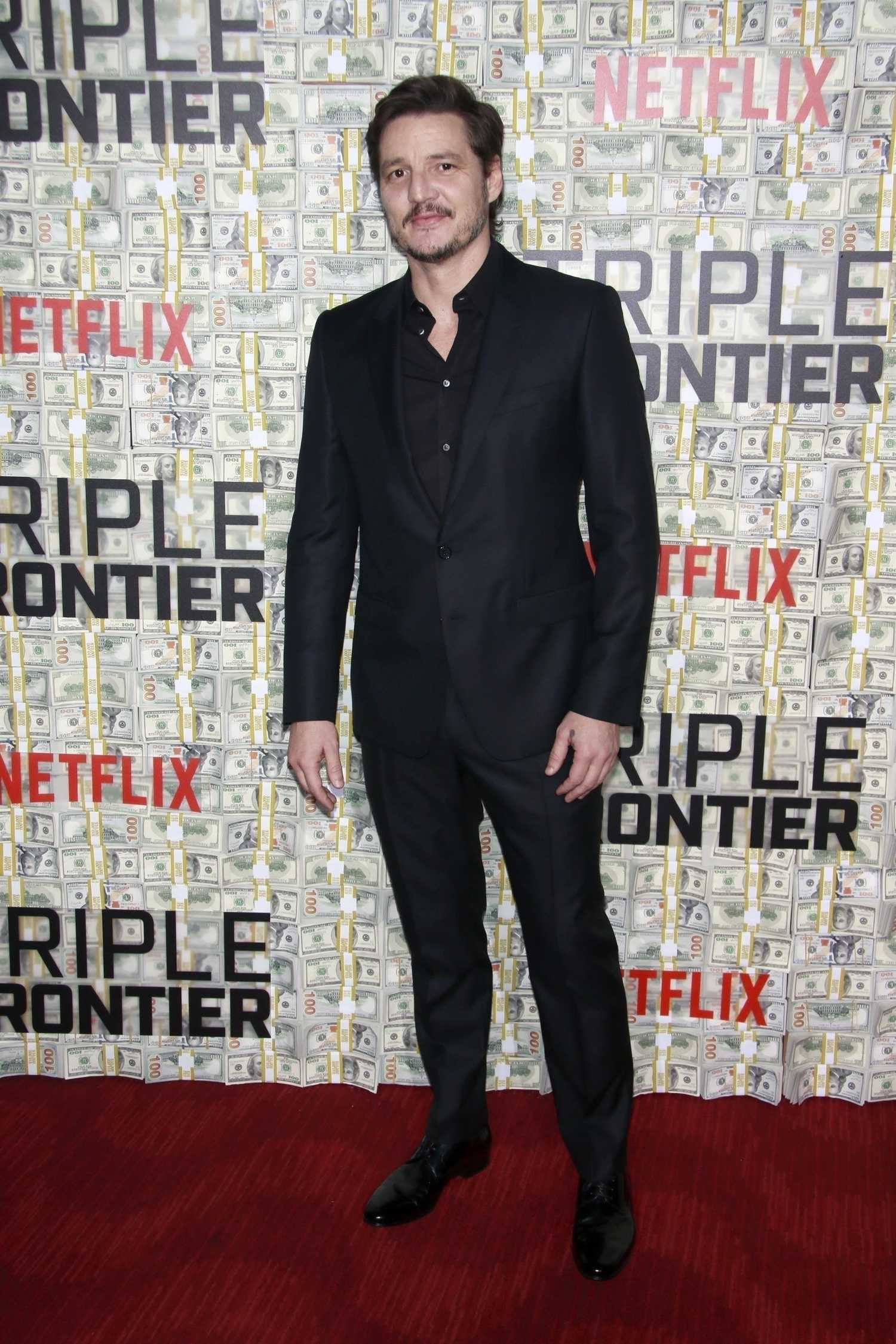 Pedro Pascal Attends the Triple Frontier Premiere in New ...