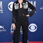Beth Behrs Attends the 54th Academy of Country Music Awards in Las Vegas