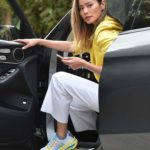 Jamie Chung in a Yellow Blazer Was Seen Out in Beverly Hills