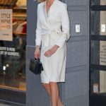 Karlie Kloss in a White Trench Coat Was Seen Out in Manhattan