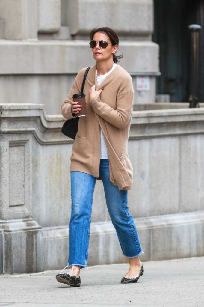 Katie Holmes in a Blue Jeans