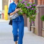 Naomi Watts in a Blue Denim Jumpsuit Was Seen Out in NYC