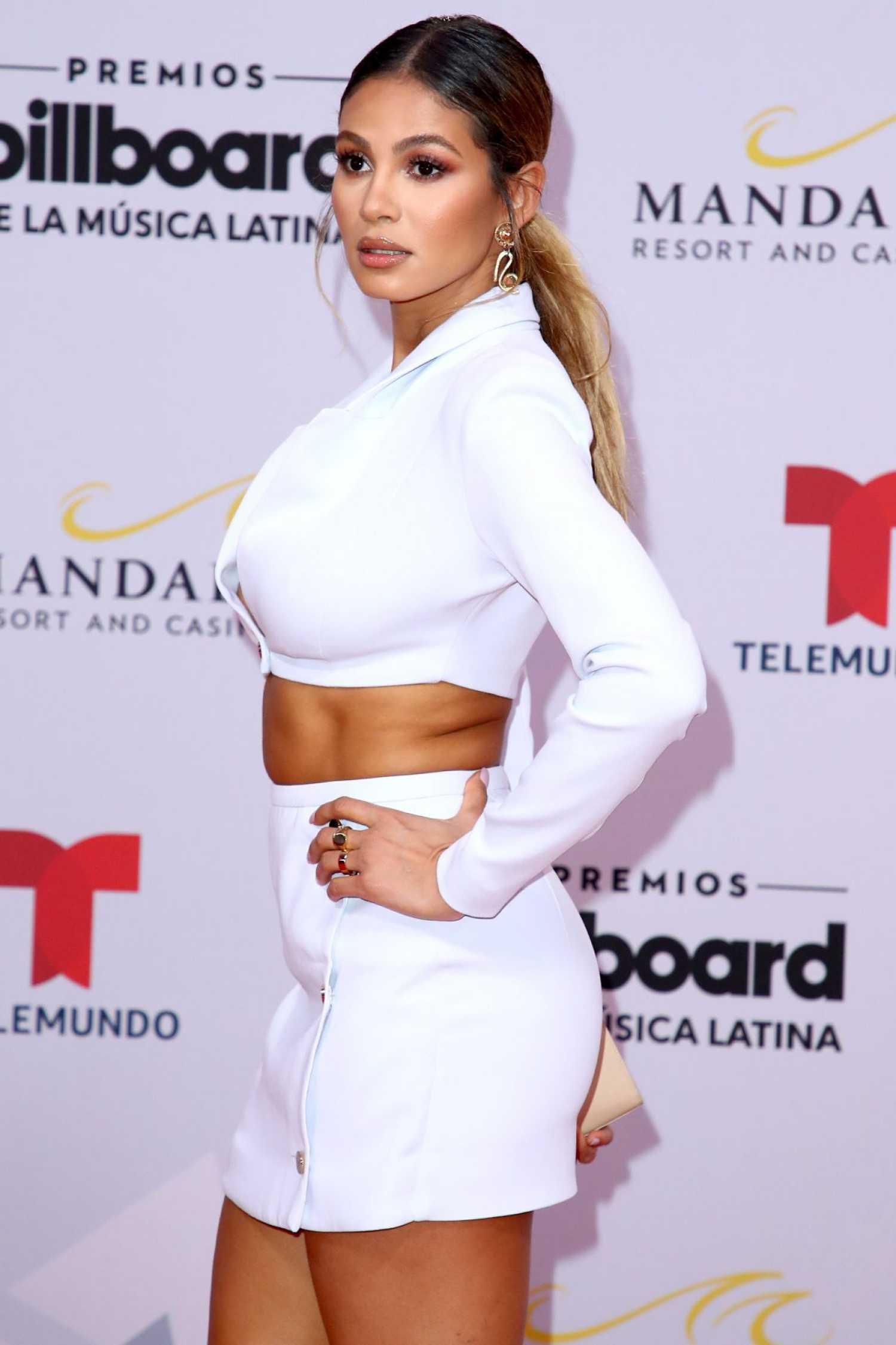 greice santo attends 2019 billboard latin music awards in