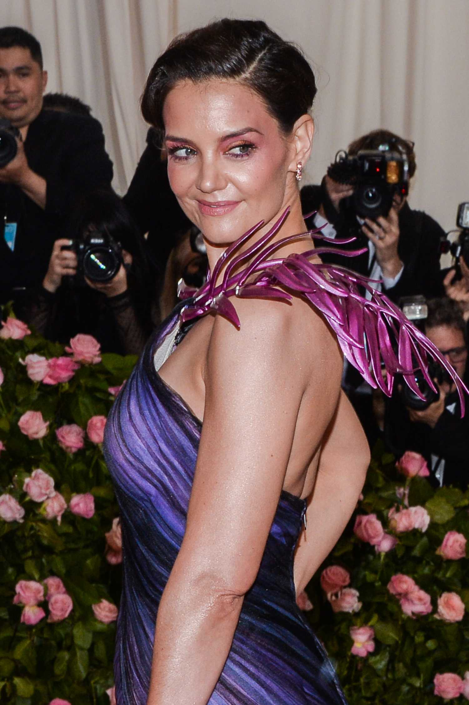 Katie Holmes Attends The 2019 Met Gala Celebrating Camp