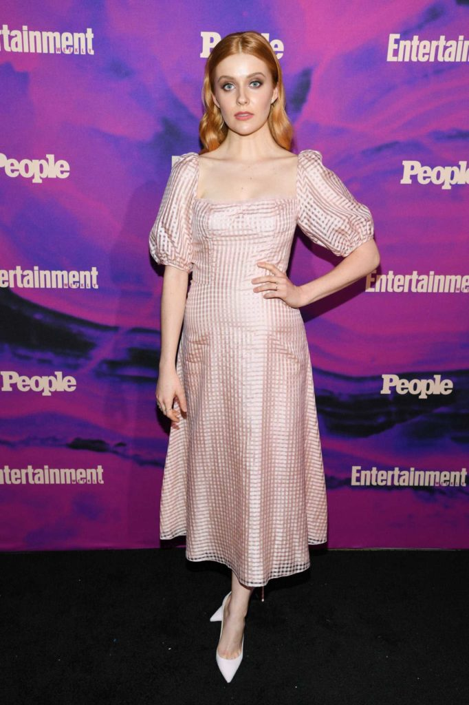 Kennedy McMann Attends People and Entertainment Weekly