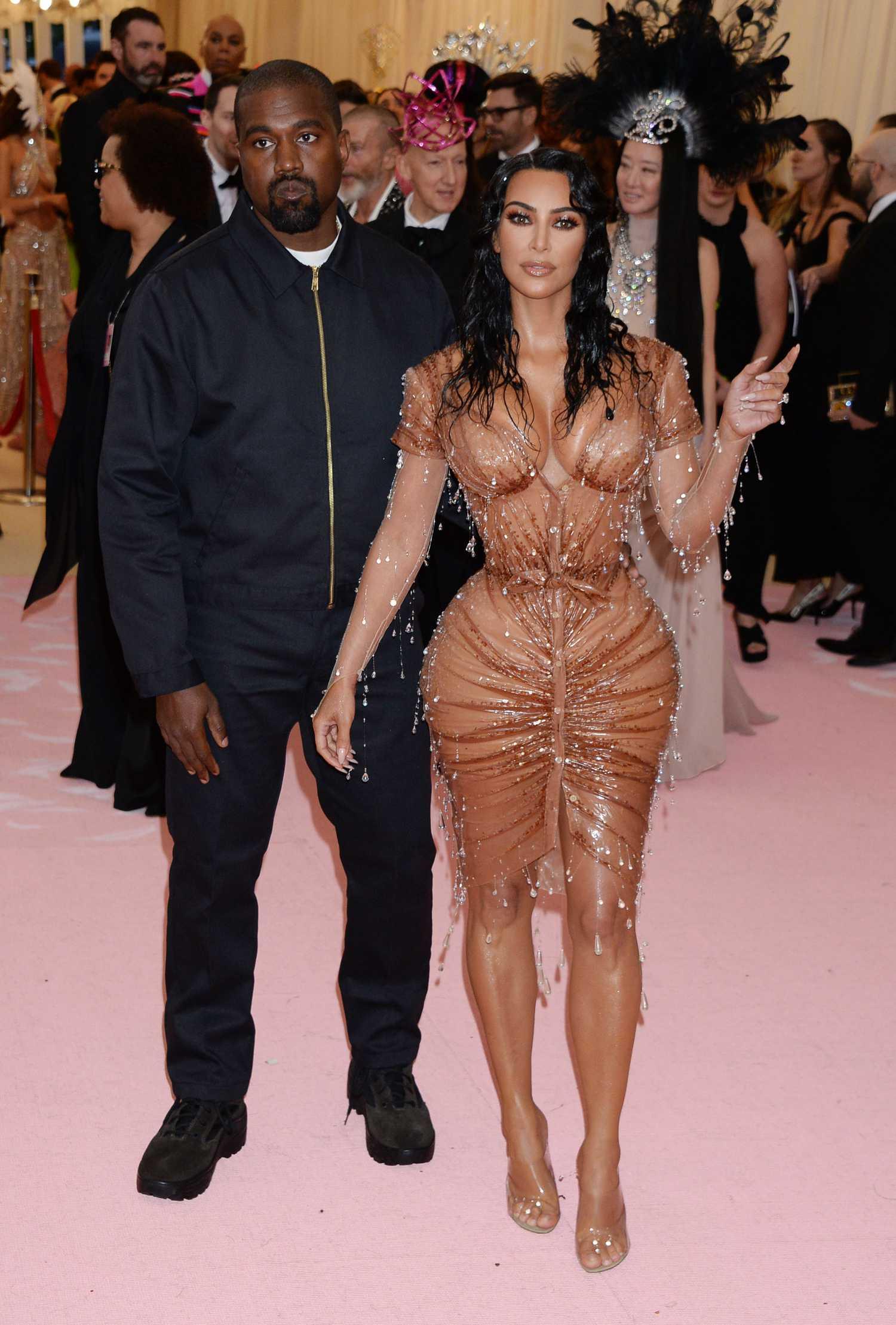 Kim Kardashian Attends the 2019 Met Gala Celebrating Camp ...