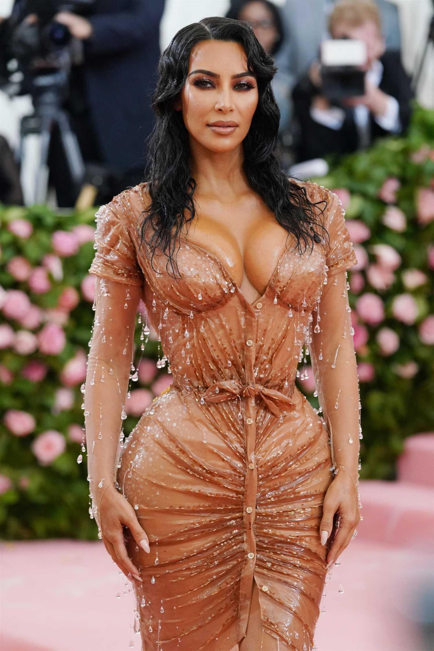 Kim Kardashian Attends the 2019 Met Gala Celebrating Camp