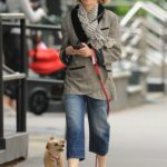 Naomi Watts Walks Her Dog Out in New York